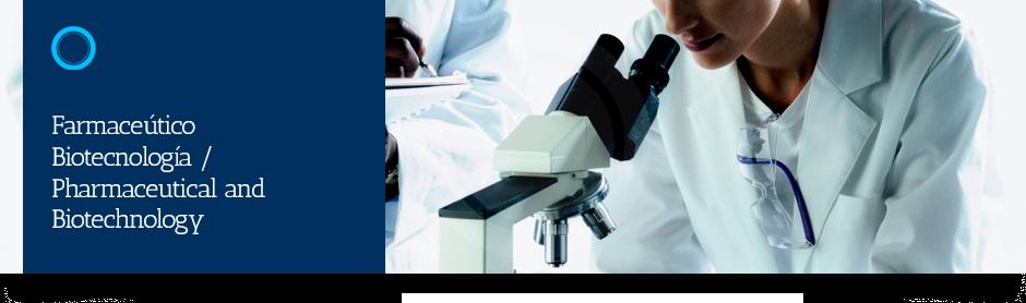 Resultado de imagen de sector farmaceutico biotecnologico